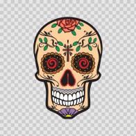 Floral Skull 12917