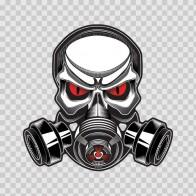 Gas Mask Skull 13239