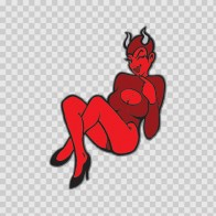 Sexy Evil Devil Woman 14670