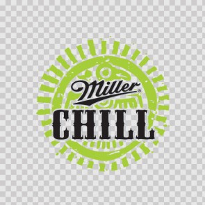 Beer Logo Miller chill 02196
